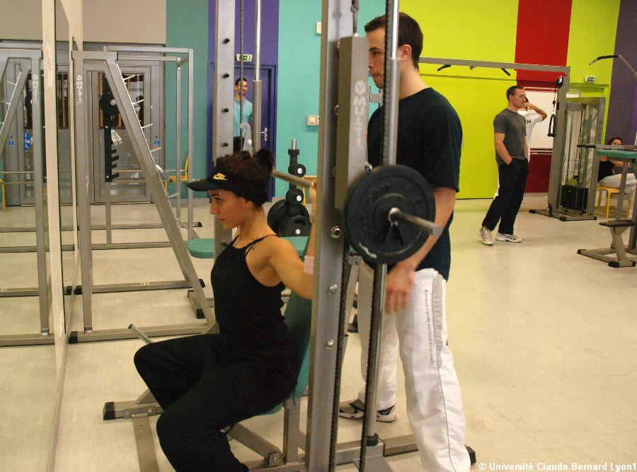 phototh 232 que lyon 1 salle de musculation