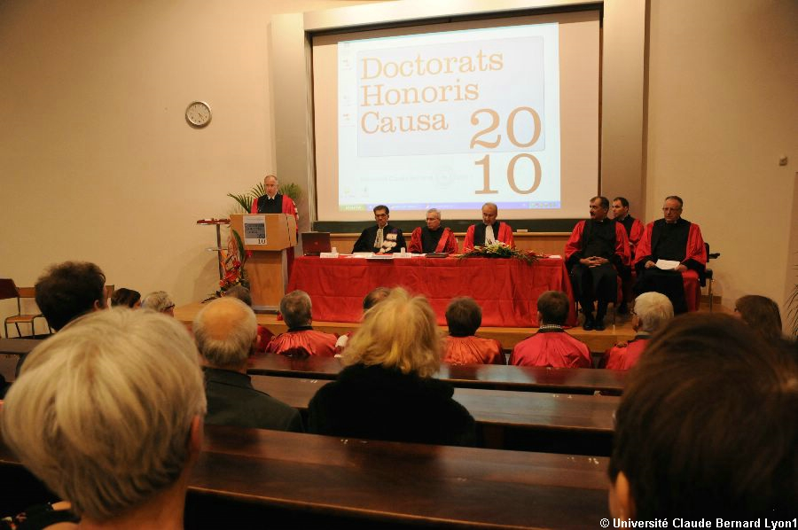 Phototh�que Lyon 1 - Docteur Honoris Causa 2010   038