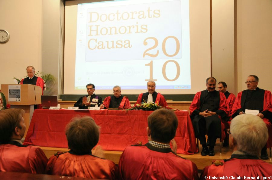 Phototh�que Lyon 1 - Docteur Honoris Causa 2010   049