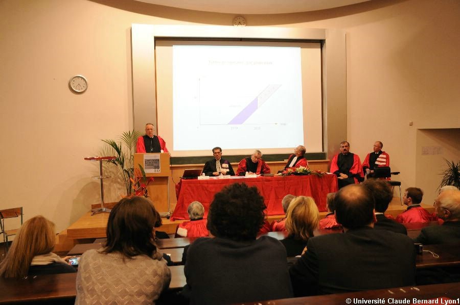 Phototh�que Lyon 1 - Docteur Honoris Causa 2010   061