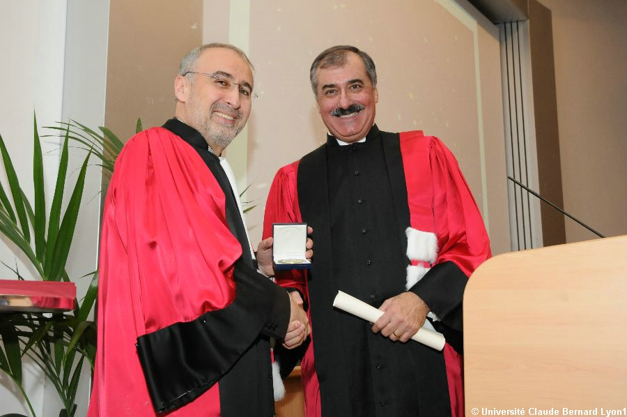 Phototh�que Lyon 1 - Docteur Honoris Causa 2010   076