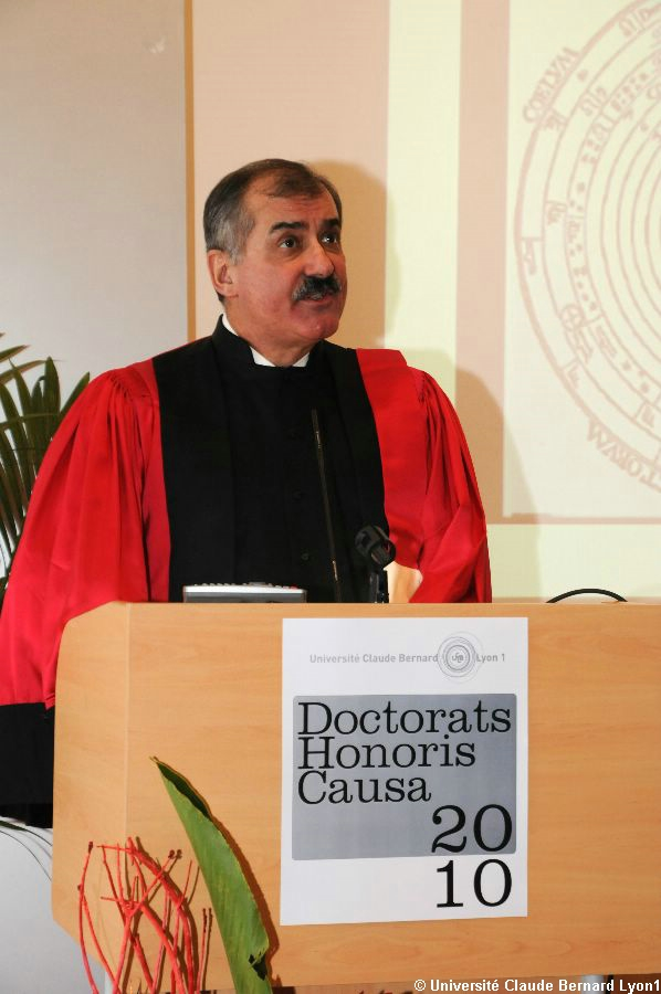 Phototh�que Lyon 1 - Docteur Honoris Causa 2010   097