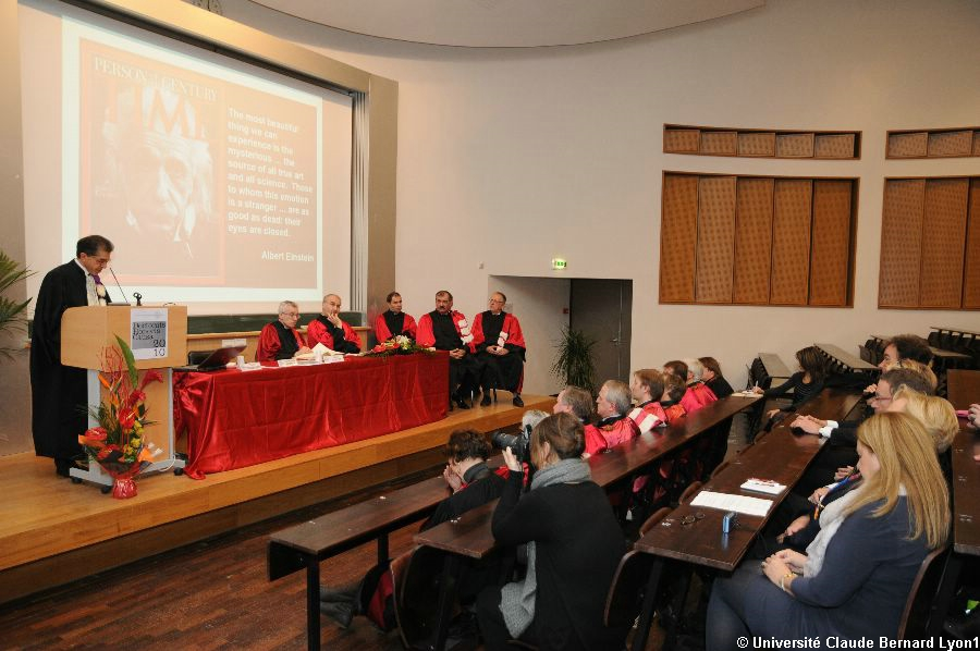 Phototh�que Lyon 1 - Docteur Honoris Causa 2010   113