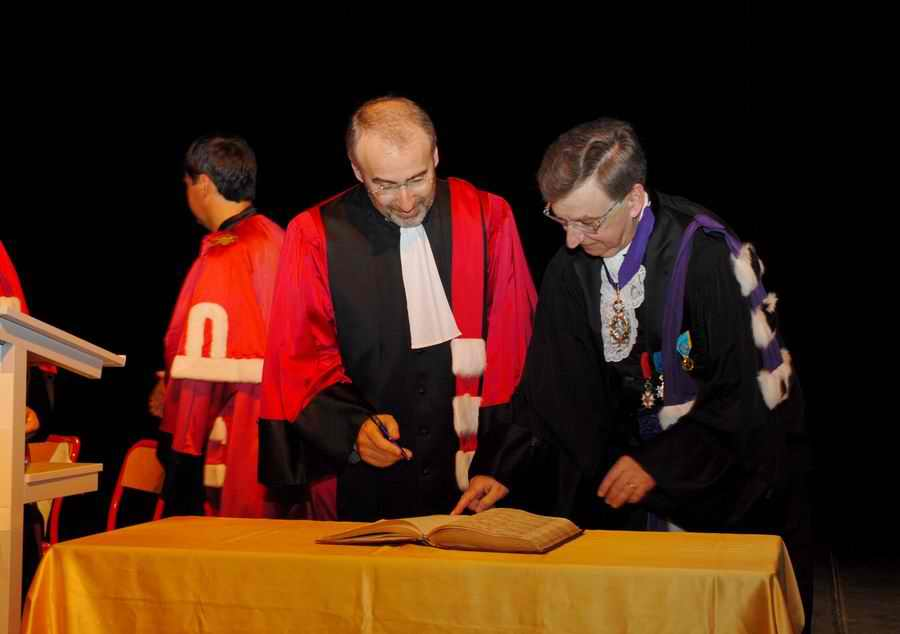 Phototh�que Lyon 1 - Docteur Honoris Causa 2006